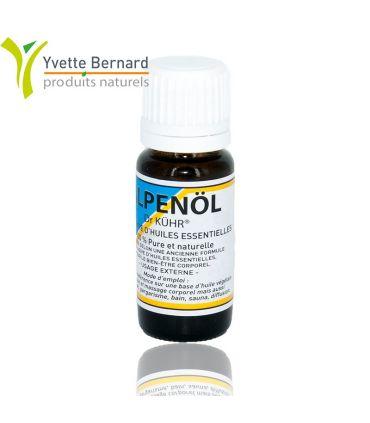 Alpenol 10ml une synergie unique d'huiles essentielles sans alcool