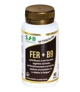 FER + B9 60 gélules: fatigues passagères, règles abondantes